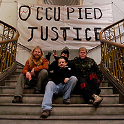 2011122001-Occupy protesters take over disused Old Street Magistrates Court