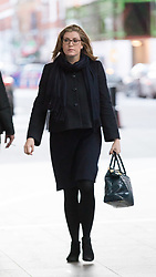 © Licensed to London News Pictures. 11/02/2018. London, UK. Penny Mordaunt, Secretary of State for International Development arrives at BBC Broadcasting House to appear on the Andrew Marr Show. Photo credit: Vickie Flores/LNP