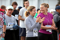 Over 300 came to celebrate the revitalized Mare Island Naval Shipyard by participating in the 4th Annual Mare Island charity run. The run/walk started on the campus of Touro University, continued past the Historic Admirals Way, wind through the beautiful new residential housing and finished back on Touro's campus.