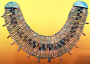 Ashmolean Museum, Turquoise Necklace from the Egyptian Old Kingdom, (the name given to the period in the 3rd millennium BCE when Egypt attained its first continuous peak of civilization)