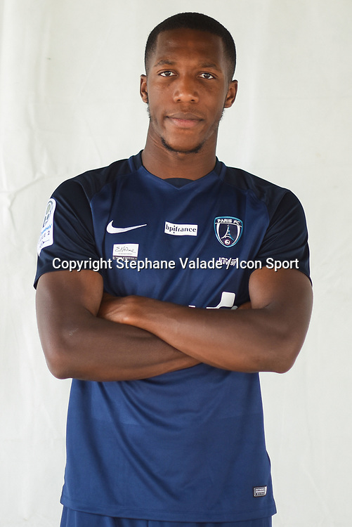 Ousmane Sidibe during photoshooting of Paris FC for new season 2017/2018 on October 17, 2017 in Paris, France<br /> Photo : Stephane Valade / Icon Sport