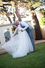 Poppy and Dan's beautiful summer garden wedding - St Mary's Church Felpham