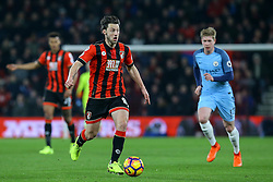 Harry Arter of Bournemouth in action - Mandatory by-line: Jason Brown/JMP - 13/02/2017 - FOOTBALL - Vitality Stadium - Bournemouth, England - Bournemouth v Manchester City - Premier League
