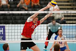 20170525 NED: 2018 FIVB Volleyball World Championship qualification, Koog aan de Zaan<br />Vasile Talpa (13) of Republic of Moldova <br />©2017-FotoHoogendoorn.nl / Pim Waslander