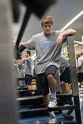 03 April 2008: North Carolina Tar Heels men's lacrosse midfielder Fletcher Gregory (6) during a practice day in Chapel Hill, NC.