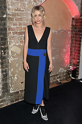 BILLIE JD PORTER at a party to celebrate 10 years of footware designer Nicholas Kirkwood held at 9 Adam Street, London on 19th September 2015.