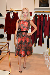 TIFFANY WATSON at the launch of the Luisa Spagnoli Flagship store at 171 Piccadilly, London on 13th October 2016.