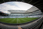 General View of St. James' Park Stadium before the EFL Cup 4th round match between Newcastle United and Preston North End at St. James's Park, Newcastle, England on 25 October 2016. Photo by Mark P Doherty.