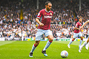 Ahmed Elmohamady of Aston Villa (27) in action during the EFL Sky Bet Championship match between Leeds United and Aston Villa at Elland Road, Leeds, England on 28 April 2019.