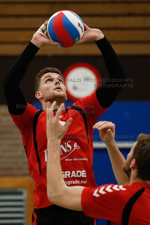 20170225 NED: Eredivisie, Valei Volleybal Prins - Coolen - Alterno: Ede<br />Jesse Kling of Valei Volleybal Prins<br />©2017-FotoHoogendoorn.nl / Pim Waslander