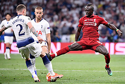 June 1, 2019 - Madrid, Spagna - Foto Alfredo Falcone - LaPresse.01/06/2019 Madrid ( Spagna).Sport Calcio.Liverpool - Tottenham.Finale Uefa Champions League 2018 2019 - Stadio Wanda Metropolitano di Madrid.Nella foto: Sadio Mane of Liverpool.Photo Alfredo Falcone - LaPresse.01/06/2019 Madrid (spain).Sport Soccer.Liverpool - Tottenham.Final Uefa Champions League  2018 2019 - Wanda Metropolitano Stadium of Madrid.In the pic: Sadio Mane of Liverpool (Credit Image: © Alfredo Falcone/Lapresse via ZUMA Press)