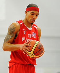 Bristol Flyers' Greg Streete   - Photo mandatory by-line: Joe Meredith/JMP - Mobile: 07966 386802 - 21/11/2014 - Sport - Basketball - Bristol - SGS Wise Campus - Bristol Flyers v Surrey United - British Basketball League