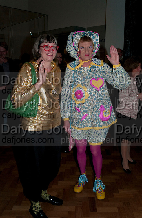 PHILLIPA PERRY; GRAYSON PERRY, Opening of the V. and A.'s New Ceramics Galleries by the Princess Royal. V. & A. London. 16 September 2009