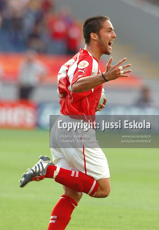 Ricardo Cabanas, France-Switzerland 21.6.2004.&amp;#xA;Euro 2004.&amp;#xA;Photo: Jussi Eskola<br />
