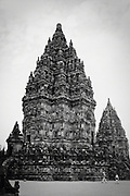Main stone temple at Prambanan, Indonesia <br />
