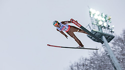 20.01.2018, Heini Klopfer Skiflugschanze, Oberstdorf, GER, FIS Skiflug Weltmeisterschaft, Einzelbewerb, im Bild Stefan Hula (POL) // Stefan Hula of Poland during individual competition of the FIS Ski Flying World Championships at the Heini-Klopfer Skiflying Hill in Oberstdorf, Germany on 2018/01/20. EXPA Pictures © 2018, PhotoCredit: EXPA/ Peter Rinderer