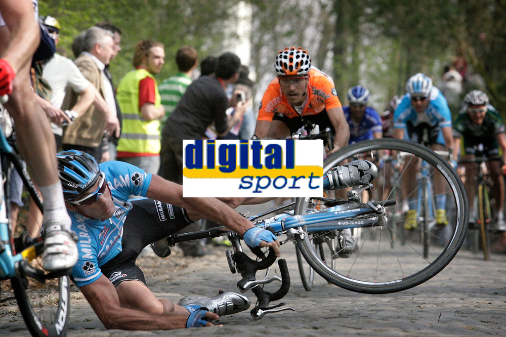 Wevelgem -  Belgie - wielrennen - cycling - radsport - Gent - Wevelgem - Protour - Marco Velo (Ita-Milram)