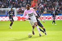 Kassim ABDALLAH / Javier PASTORE - 18.01.2015 - Paris Saint Germain / Evian Thonon - 21eme journee de Ligue 1<br />Photo : Dave Winter / Icon Sport