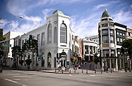 Photo Randy Vanderveen.Beverly Hills, California.The world famous Rodeo Drive in Beverly Hills, California ? the shopping mecca for the rich and famous.