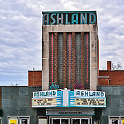 The historic Ashland, Virginia movie theater.