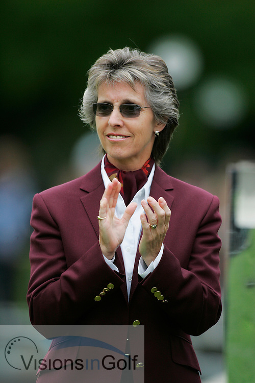 Beverley Lewis the 1st lady PGA Captain<br />BMW Championship 2005, Wentworth, Surrey, UK<br />Photo by Mark Newcombe / visionsingolf.com