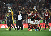 2019-10-203 validated by the Libertadores Cup of the Americas. Flamengo wins the match and qualifies for the finals. Photo by André Durão / Swe Press Photo