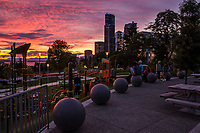 Yesler Terrace Park @ Sunset