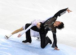 23.03.2010, Torino Palavela, Turin, ITA, ISU World Figure Skating Championships Turin 2010 im Bild Yuko Kavaguti and Alexander Smirnov (RUS), EXPA Pictures © 2010, PhotoCredit: EXPA/ InsideFoto/ Perottino / SPORTIDA PHOTO AGENCY