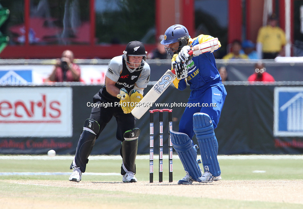 TM Dilshan. New Zealand Black Caps v Sri Lanka, international exhibition Twenty 20 cricket match, Central Broward Regional Park, Florida, United States of America. 23 May 2010. Photo: Barry Bland/PHOTOSPORT