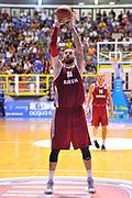 DESCRIZIONE : Cagliari Qualificazione Eurobasket 2015 Qualifying Round Eurobasket 2015 Italia Russia - Italy Russia<br /> GIOCATORE : Dmitry Sokolov<br /> CATEGORIA : Tiro Libero<br /> EVENTO : Cagliari Qualificazione Eurobasket 2015 Qualifying Round Eurobasket 2015 Italia Russia - Italy Russia<br /> GARA : Italia Russia - Italy Russia<br /> DATA : 24/08/2014<br /> SPORT : Pallacanestro<br /> AUTORE : Agenzia Ciamillo-Castoria/ Luigi Canu<br /> Galleria: Fip Nazionali 2014<br /> Fotonotizia: Cagliari Qualificazione Eurobasket 2015 Qualifying Round Eurobasket 2015 Italia Russia - Italy Russia<br /> Predefinita :