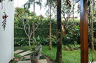 Sao Sebastiao, Brasil - December 19 of 2016: Gardening - beach house. Image by CAIO GUATELLI