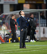 Dundee&rsquo;s interim manager Neil McCann looks to the heavens as his side lose under his charge for the first time  - Dundee v Inverness Caledonian Thistle in the Ladbrokes Scottish Premiership at Dens Park, Dundee, Photo: David Young<br /> <br />  - &copy; David Young - www.davidyoungphoto.co.uk - email: davidyoungphoto@gmail.com