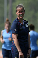 26 April 2008: United States assistant coach Erica Walsh. The United States Women's National Team held a training session on Field 3 at WakeMed Soccer Park in Cary, NC.