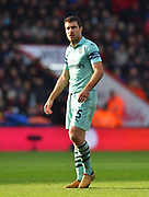 Sokratis Papastathopoulos (5) of Arsenal during the Premier League match between Bournemouth and Arsenal at the Vitality Stadium, Bournemouth, England on 25 November 2018.