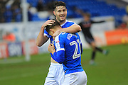 GOAL Tom Nichols celebrates making the score 2-0 during the EFL Sky Bet League 1 match between Peterborough United and Rochdale at London Road, Peterborough, England on 25 February 2017. Photo by Daniel Youngs.