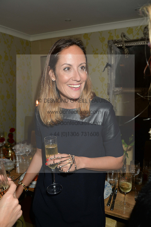 RAFAELA FEIO at the Bumpkin Halloween Dinner hosted by Marissa Hermer held at Bumpkin, 119 Sydney Street, London on 23rd October 2014.