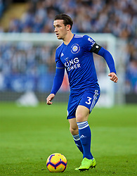 LEICESTER, ENGLAND - Saturday, November 10, 2018: Leicester City's Ben Chilwell during the FA Premier League match between Leicester City FC and Burnley FC at the King Power Stadium. (Pic by David Rawcliffe/Propaganda)