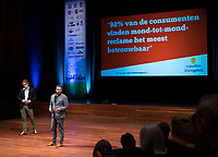 BUSSUM - NVG / NGF/ PGA congres 2018. The drive to happiness. Jelle Ganzeveld en Robert Guerain.  COPYRIGHT KOEN SUYK
