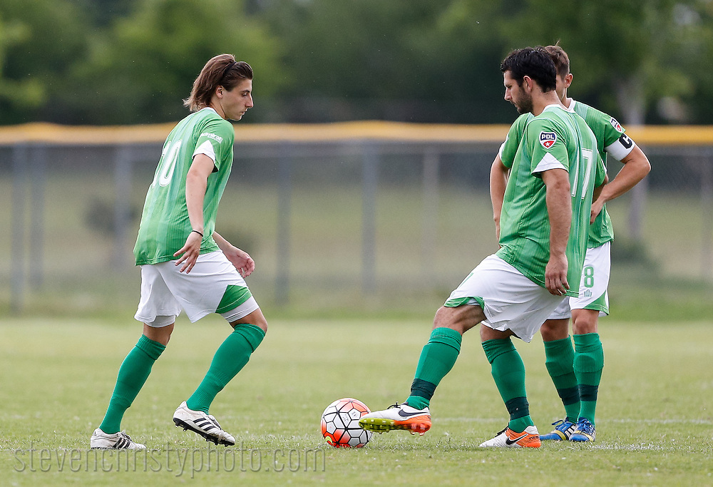May 29, 2016: OKC Energy FC U23 plays the Albuquerque Sol FC in a USL PDL game at Norman High School Soccer Complex in Norman, Oklahoma.