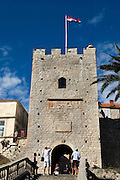 City gate, Korcula, Croatia