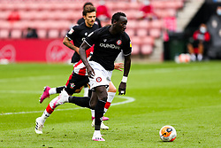 Famara Diedhiou of Bristol City during a friendly match before the Premier League and Championship resume after the Covid-19 mid-season disruption - Rogan/JMP - 12/06/2020 - FOOTBALL - St Mary's Stadium, England - Southampton v Bristol City - Friendly.
