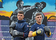 Pat and Luke McCormack Photo call - Birtley Boxing Club- 11 Aug 2017