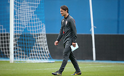 06.09.2014, Trainingsground, Zagreb, CRO, FS Vorbereitung, Trainingslager, Kroatisches Nationalteam, im Bild Niko Kovac // during a training session of the national footballteam of Croatia in preparation for the upcoming EURO 2016 qualifying match against Malta on 09. Spetember 2014 in Zagreb, at the Trainingsground in Zagreb, Croatia on 2014/09/06. EXPA Pictures © 2014, PhotoCredit: EXPA/ Pixsell/ Sanjin Strukic<br /> <br /> *****ATTENTION - for AUT, SLO, SUI, SWE, ITA, FRA only*****
