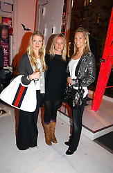 Left to right,  WILLOW CORBETT-WINDER, NATHALIE BURGEN and OLIVIA BUCKINGHAM at a party to celebrate the launch of DKNY Kids and Halloween in aid of CLIC Sargent and RX Art held at DKNY, 27 Old Bond Street, London on 31st October 2006.<br /><br />NON EXCLUSIVE - WORLD RIGHTS