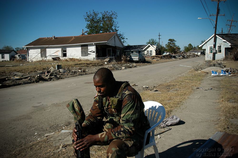 Post Hurricane Katrina New Orleans, LA, October 17, 2005.
