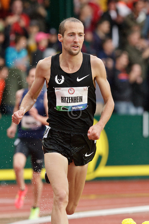Olympic Trials Eugene 2012: men's 10,000 meter final, Dathan Ritzenhein, Olympian