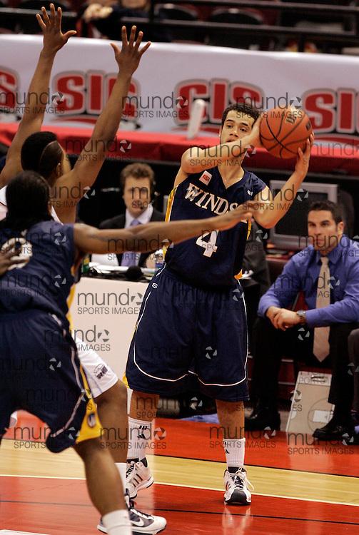 CIS Basketball Champioships-Ottawa, March 20, 2010, Windsor Lancers-Josh Collins