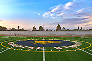 Garden Grove High School Center Field Football Logo