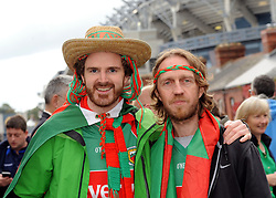 Sean McHugh and Ken McGreal from Castlebar at the All Ireland final replay.<br />