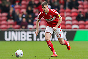 Middlesbrough midfielder Paddy McNair (17) in action during the EFL Sky Bet Championship match between Middlesbrough and Reading at the Riverside Stadium, Middlesbrough, England on 27 April 2019.